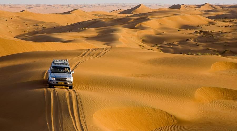 Il Deserto di Wahiba Sand