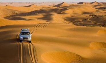 Minitour alla scoperta del deserto e dei Wadi