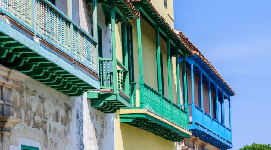 Balconi in Avana vecchia