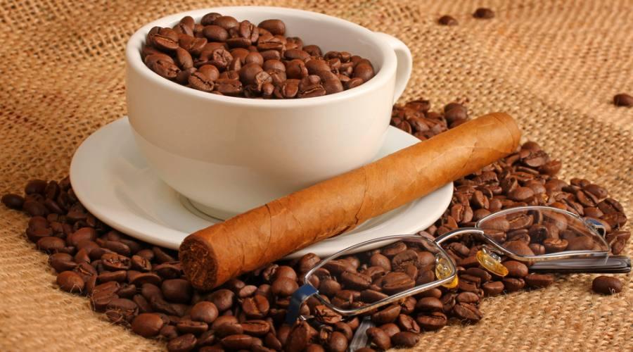 Sigari, Caffè e Oftalmologia,  emblemi di Cuba