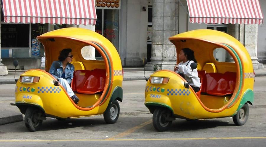 Coco Taxi, Ciudad de La Habana