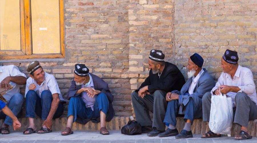 anziani uzbeki