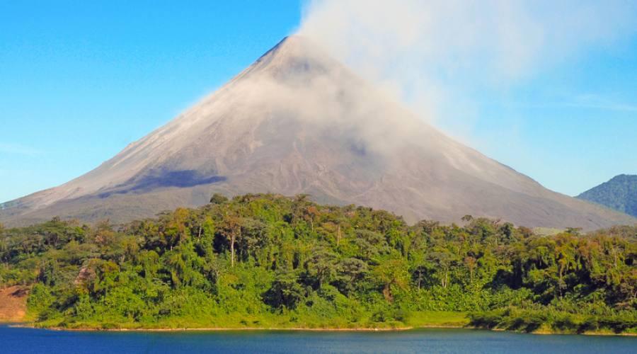 Il vulcano Arenal