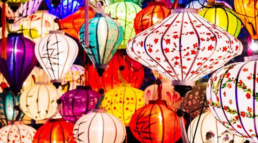 I colori delle lanterne a Hoian