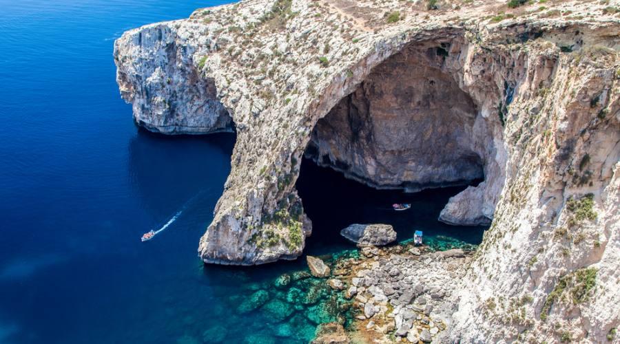 Escursione: Blue Grotto