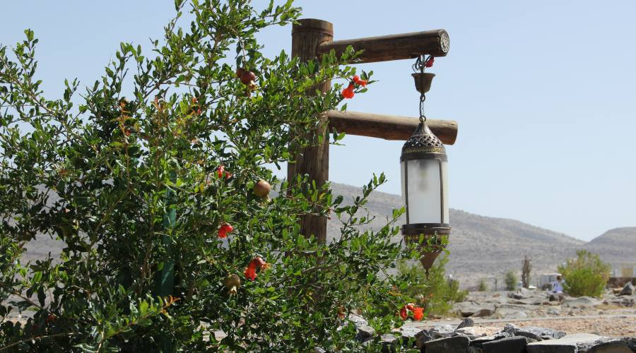 Jabal Akdar- vista dall'hotel 5 stelle