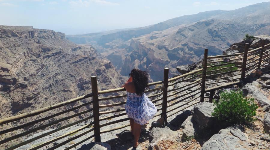 Sguardo su Jabal Akhdar