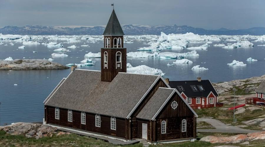 La chiesa di Ilulissat