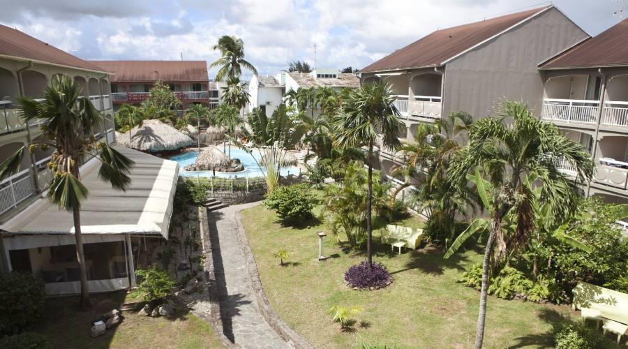 I giardini dell'Hotel La Pagerie