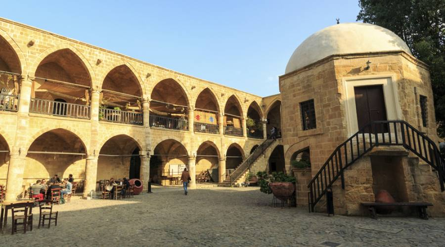 Caravanserraglio Buyuk Han a Nicosia