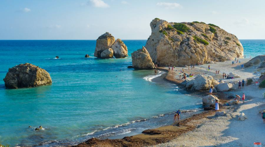 la roccia di Afrodite