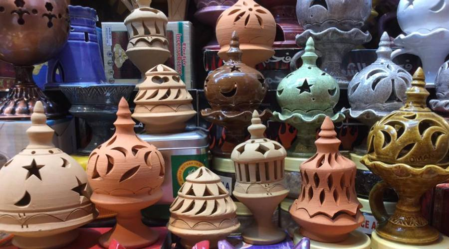 Artigianato locale al Souq di Muscat