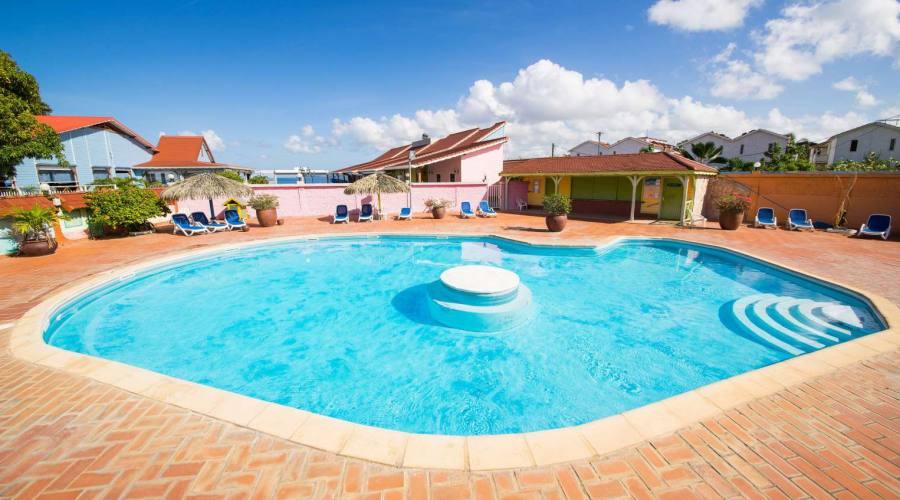 Hotel Bambou Martinica - la piscina