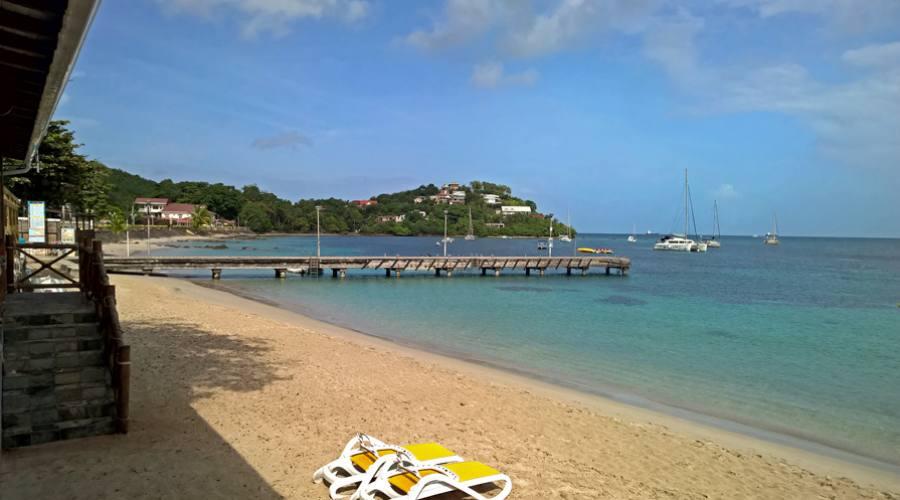 Hotel Bambou Martinica - la spiaggia
