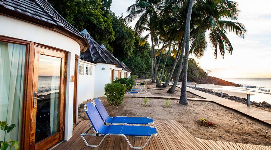 I bungalow fronte spiaggia