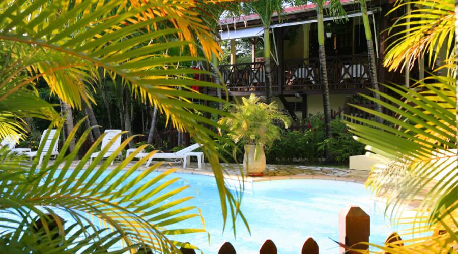 La piscina di Habitation Grande Anse