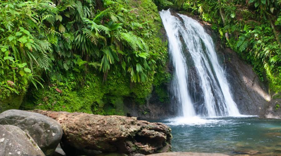 La cascata aux Ecrevisses in Basse Terre