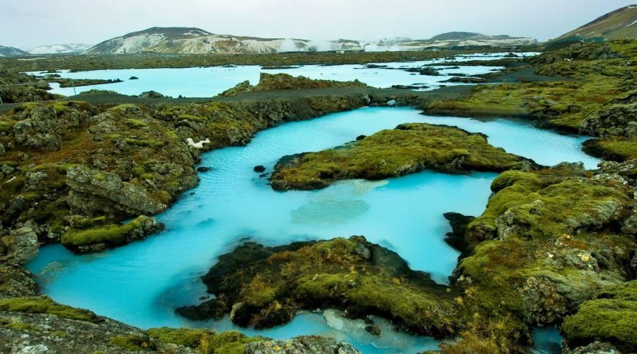 Blue Lagoon in Islanda