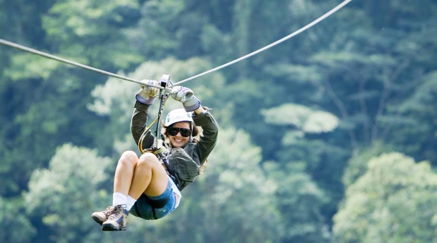 Zip line - Riserva di Monteverde