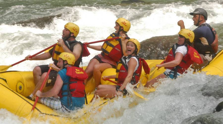 Rafting sul Rio Pacuare