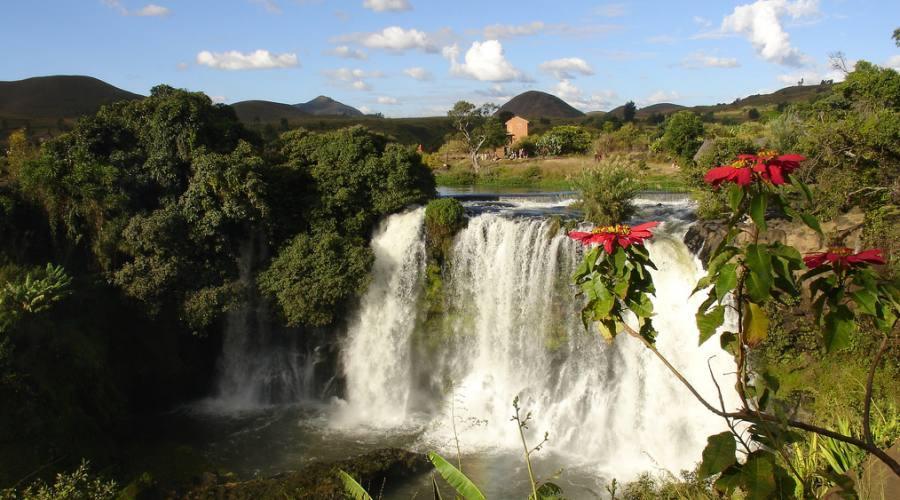 Cascata nel Parco nazionale di Mananara Nord - Madagascar