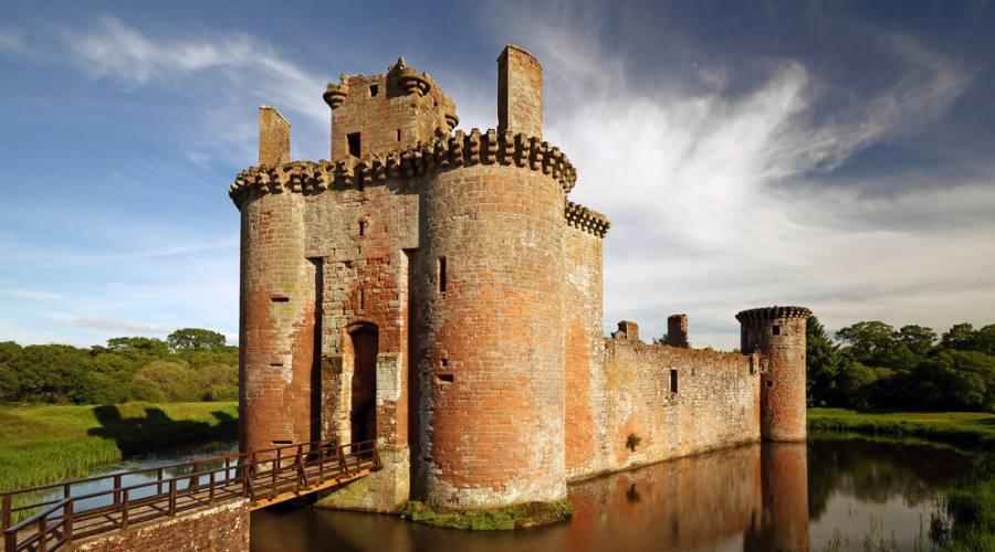 Riflessi del castello di Caerlaverock