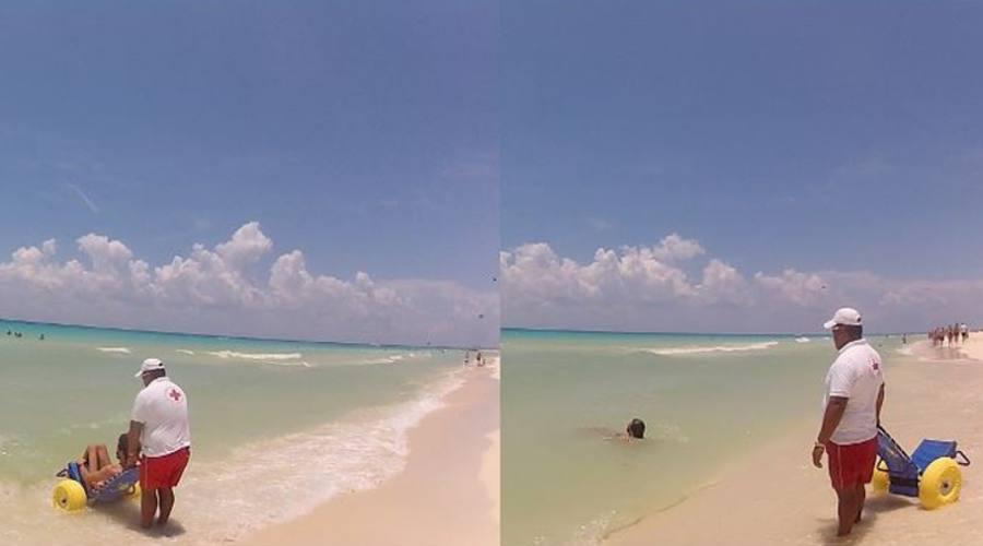 Spiaggia accessibile