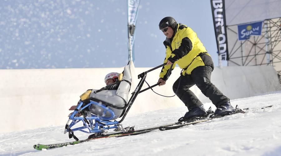 Vacanze accessibili sulla neve