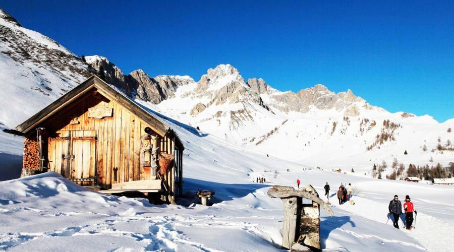 Val di Fassa in inverno