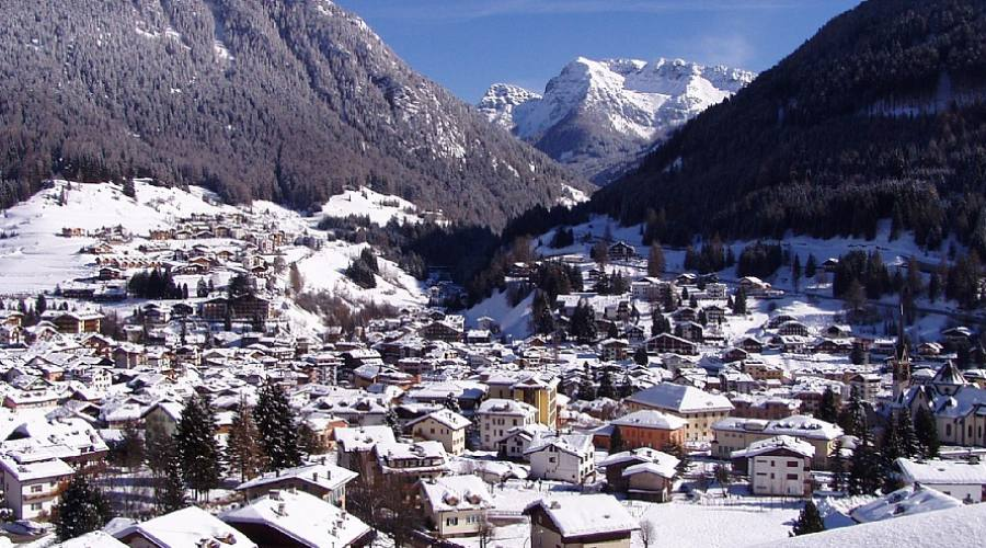 Panorama Val di Fassa