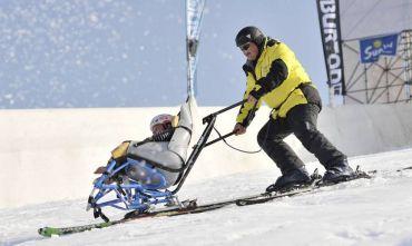 Vacanze sulla neve per non vedenti, disabili motori e intellettivi!