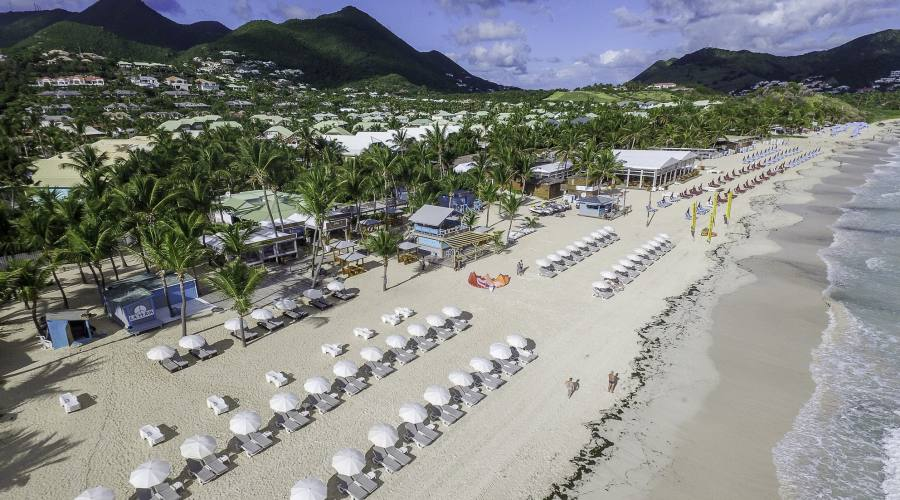 Hotel La Playa Orient Bay - vista aerea