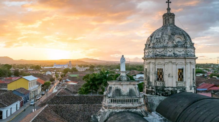 Tramonto a Granada, Nicaragua