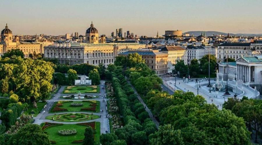 Vienna, giardini