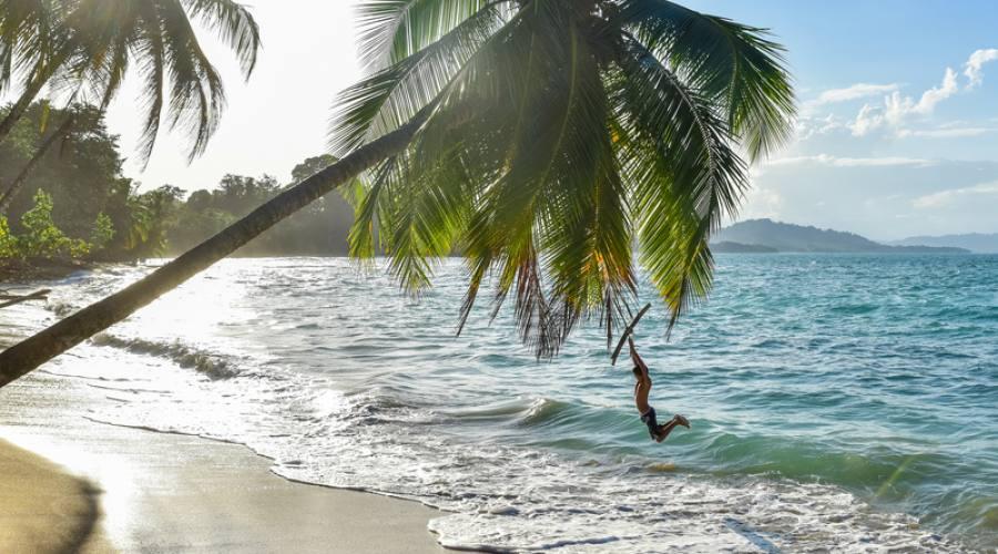 Playa Uva, costa caraibica della Costa Rica