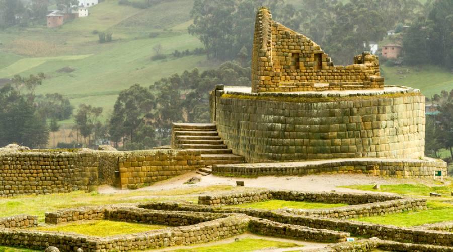Le rovine di Ingapirca