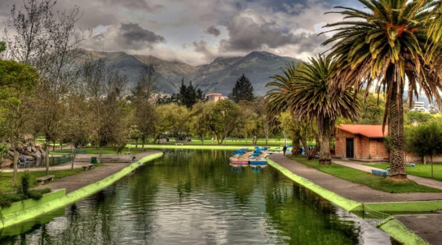 Giardini pubblici, Quito