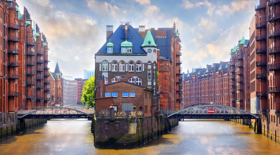 Amburgo, quartieri sul fiume