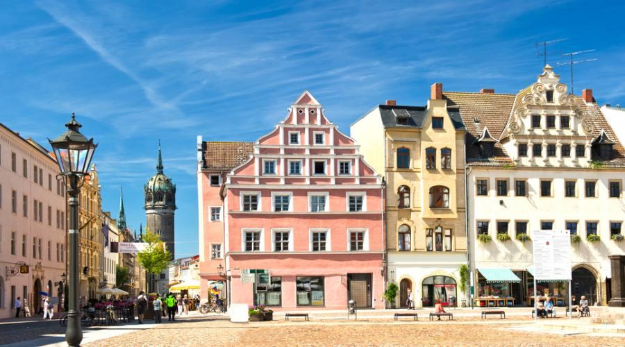 Wittemberg, la piazza del mercato