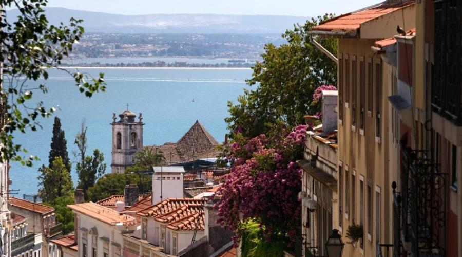 Scorcio da Lisbona