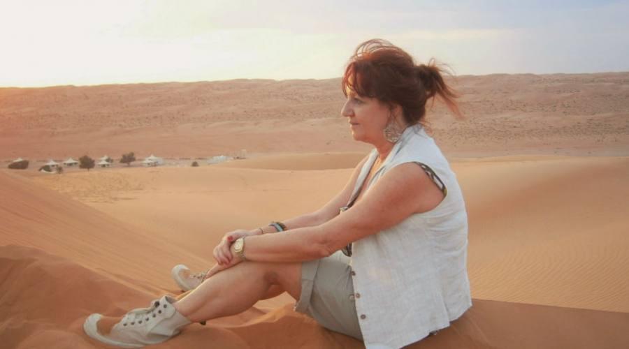 Nel deserto di Wahiba