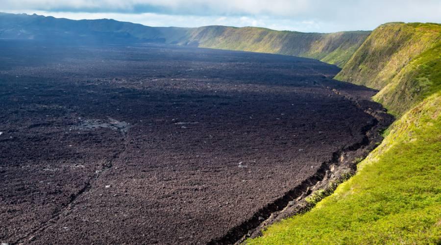 Cratere del vulcano Sierra Negra