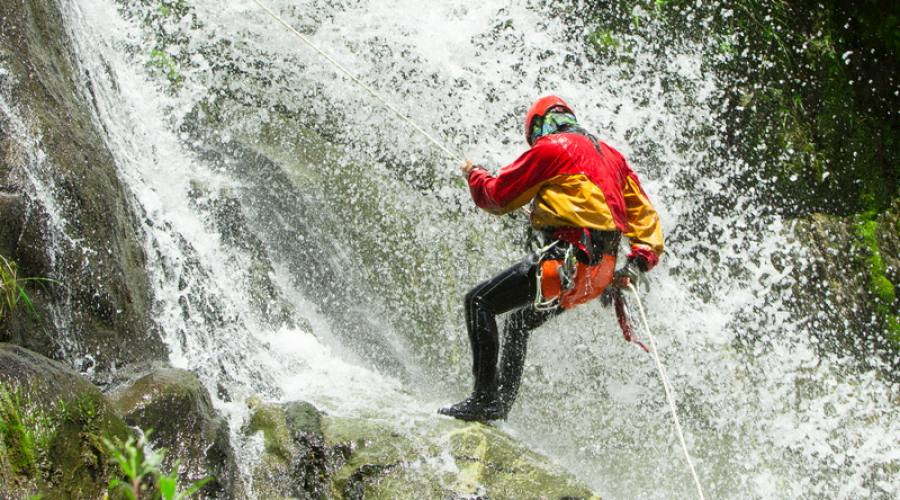 Canyoing in Baños