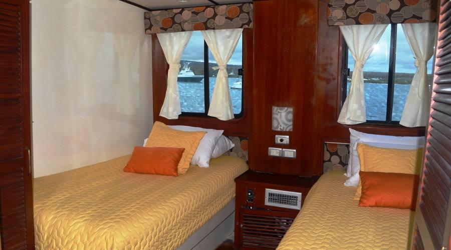Una cabina doppia