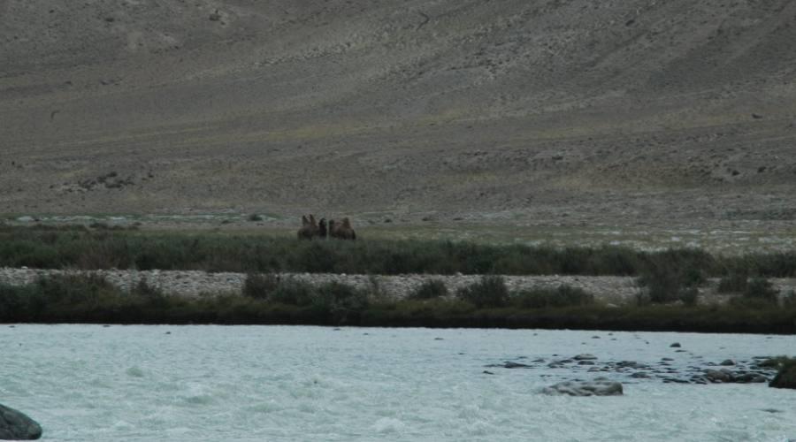 il fiume che costeggia l'Afghanistan