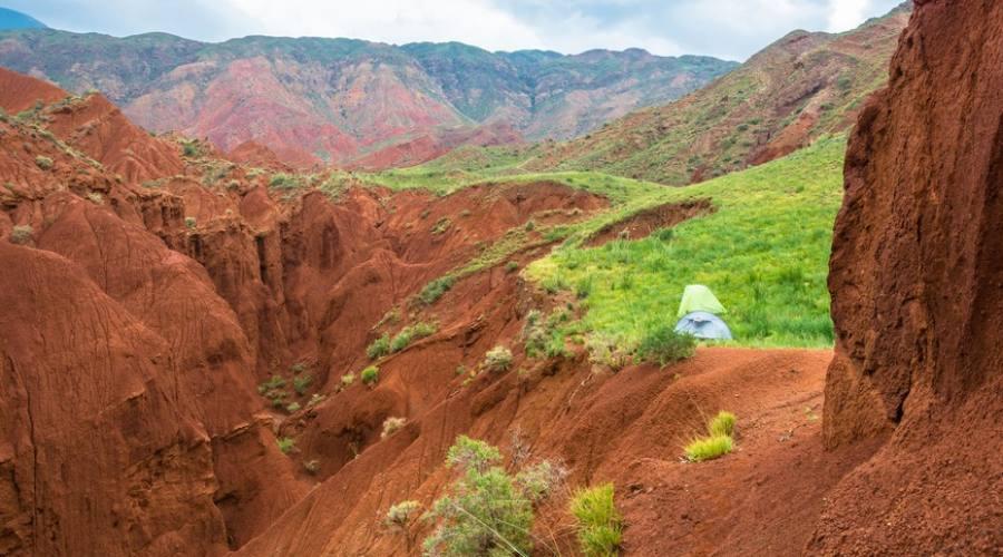 canyon Kyrgyzstan