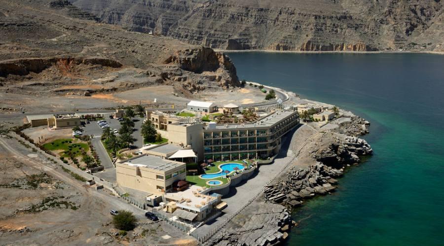 Musandam- Atana Resort dall'alto