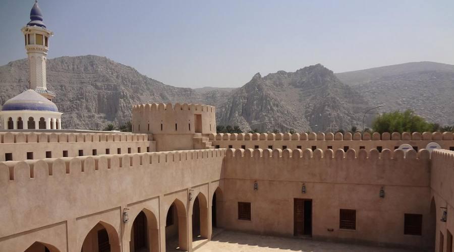 Khasab- castello