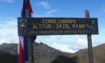In cima al Chirripó, la montagna più alta del paese!