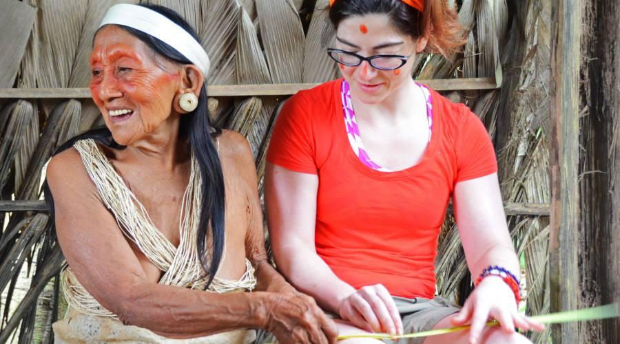 Gli indios insegnano come si vive